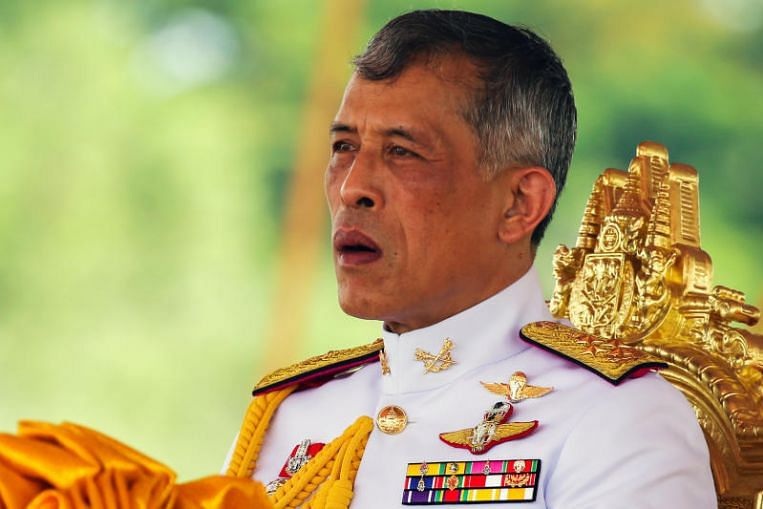 Thai king fires 6 palace officials for 'extremely evil' conduct days after dismissing consort for disloyalty