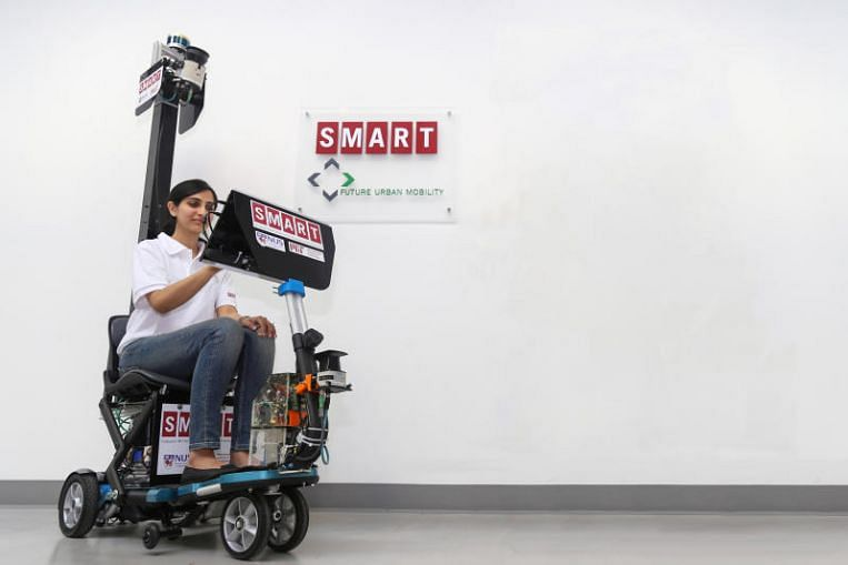 Autonomous scooter developed in Singapore all set to go on the market