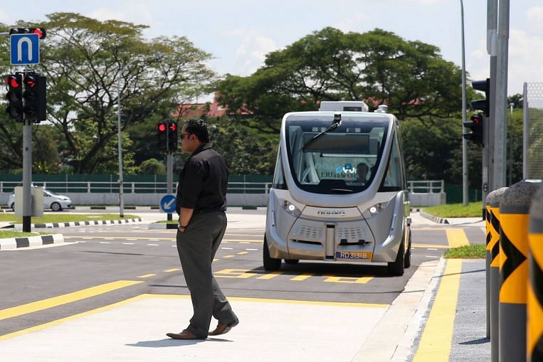 Public roads in all of western Singapore to be used to test self-driving vehicles