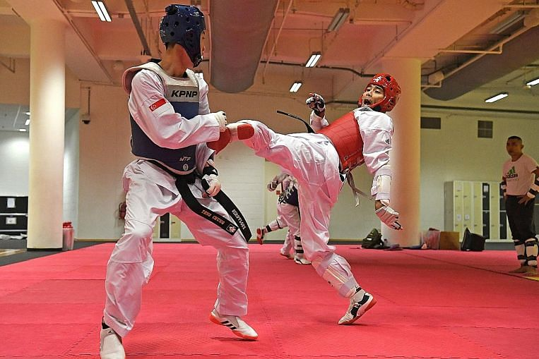 Troubled TKD's athletes fight back
