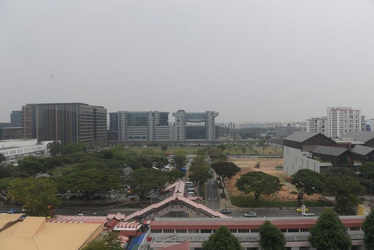 Air quality enters unhealthy range in eastern Singapore
