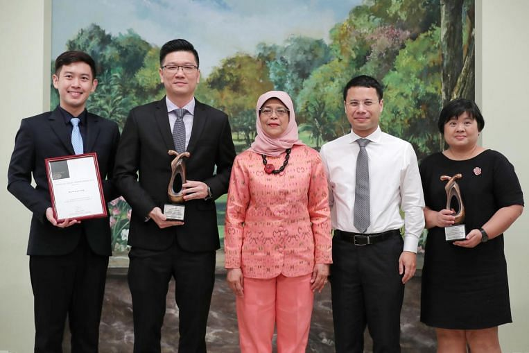 Social workers recognised for efforts to help youths-at-risk, terminally ill patients - The Straits Times