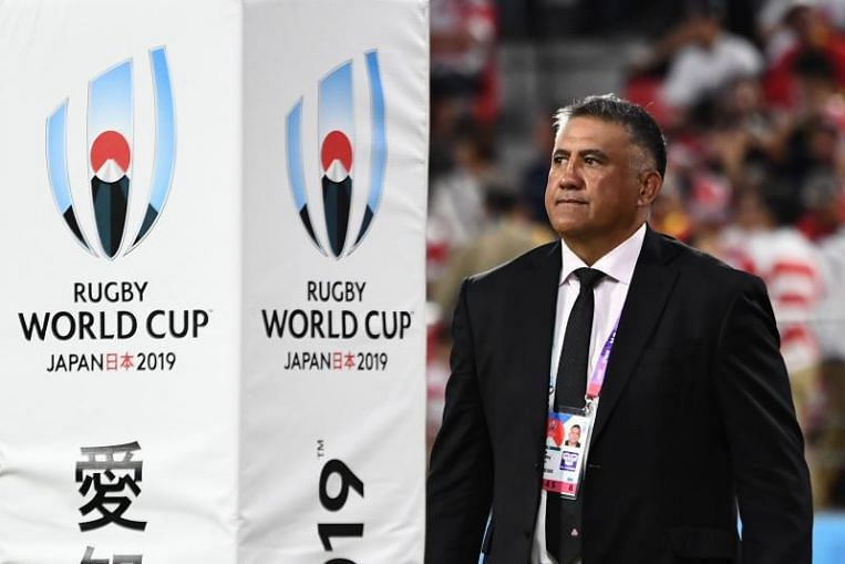 Rugby: Jamie Joseph to take Japan to next Rugby World Cup, giving up chance of All Blacks role - The Straits Times