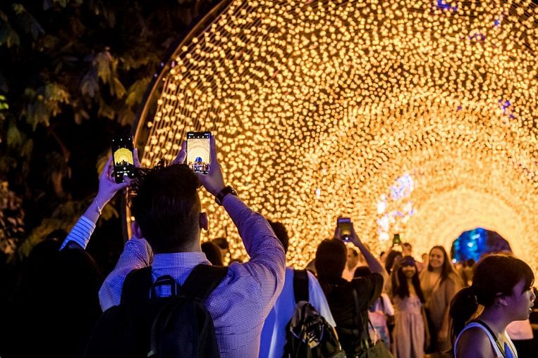 It's a holly, jolly Christmas Wonderland 2019 at Gardens by the Bay