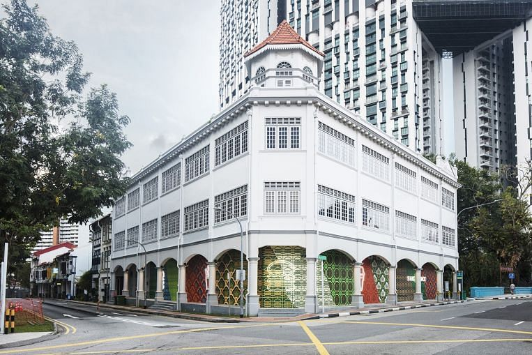 A touch of Peranakan for Shake Shack's outlet in Tanjong Pagar