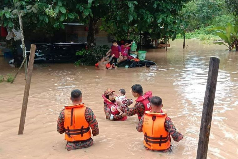 Over 9,000 people displaced as floods worsen in Malaysia's Johor
