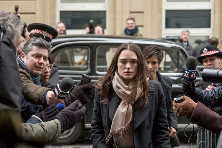 Keira Knightley plays an 'ordinary' whistleblower in Official Secrets