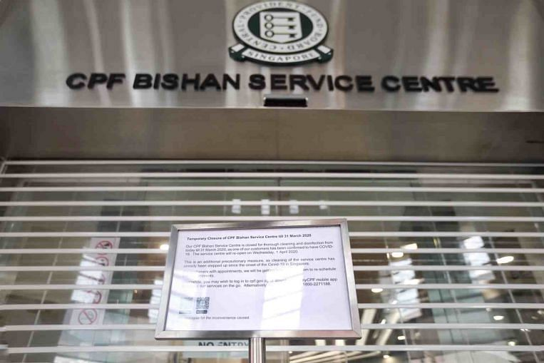 Coronavirus: CPF Bishan service centre closed after visitor tests positive