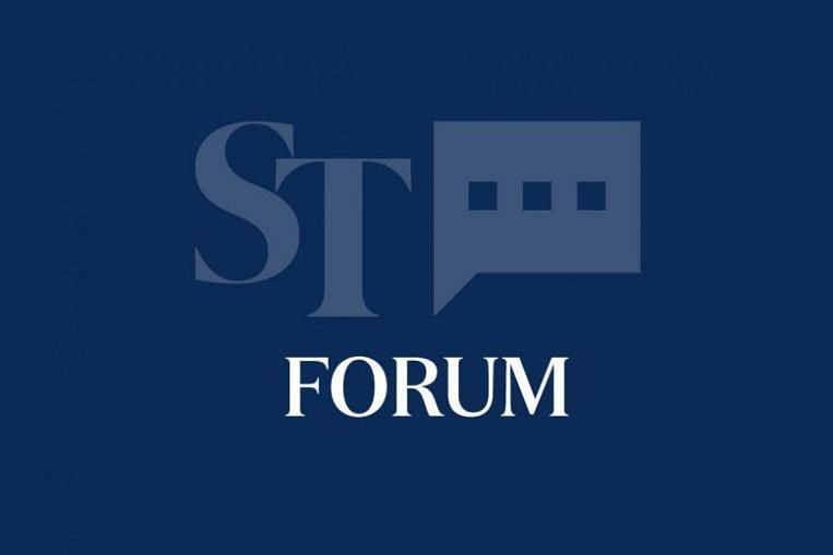 Opinion & Forum | The Straits Times - cover