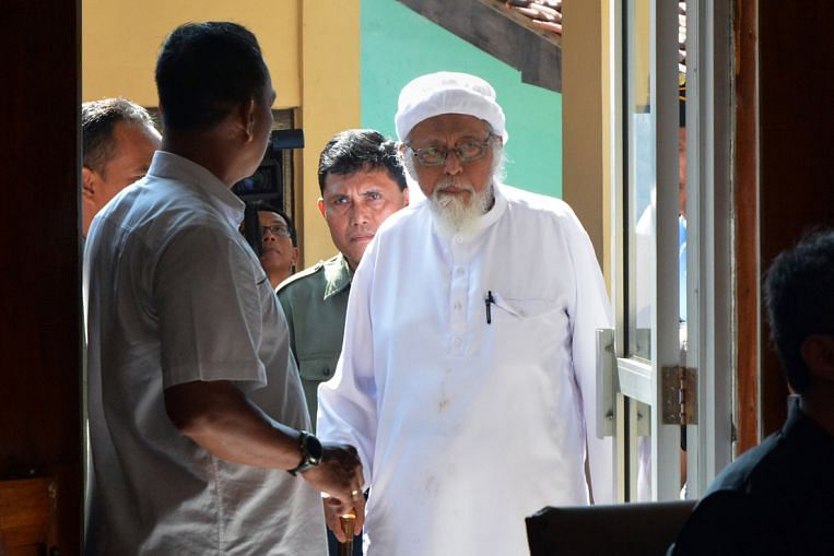 Radical Indonesian cleric Bashir asks for early release from prison , says age puts him in Covid - 19 high - risk group