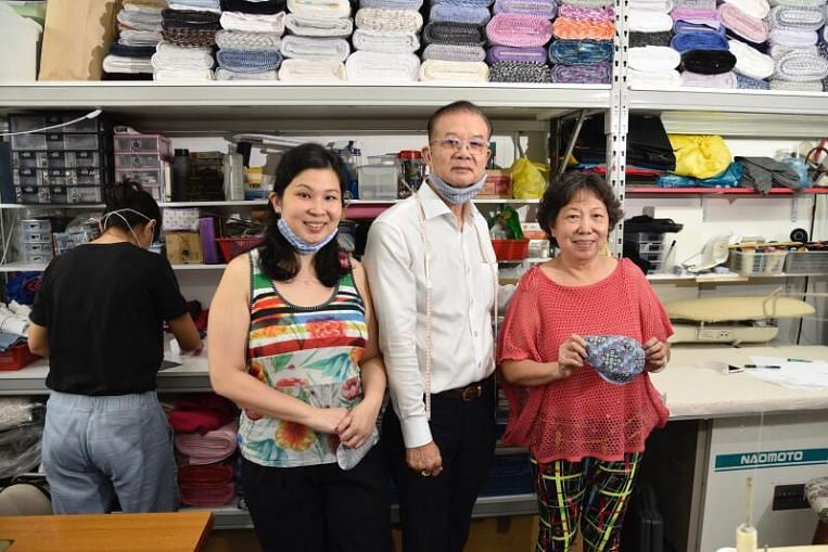 Coronavirus: Local apparel firms switch to making masks from fabric