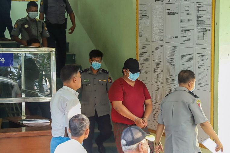 Myanmar jails doctor for insulting monks over sex