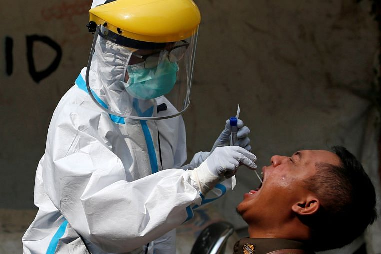 Jokowi wants wider virus testing as Indonesia cases top 75,000