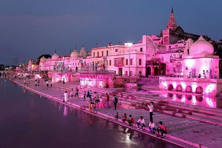 Lighting up for Ayodhya event