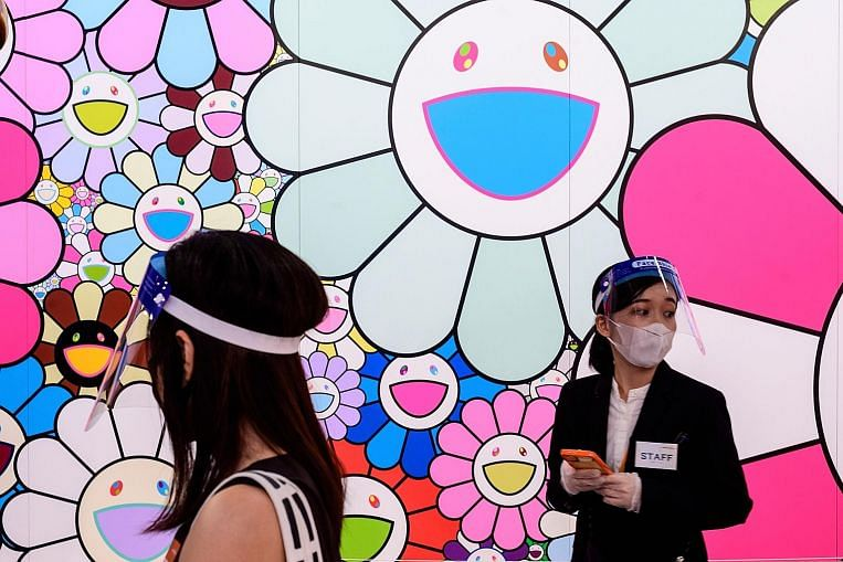 Tokyo museum tests waters by opening art show to visitors