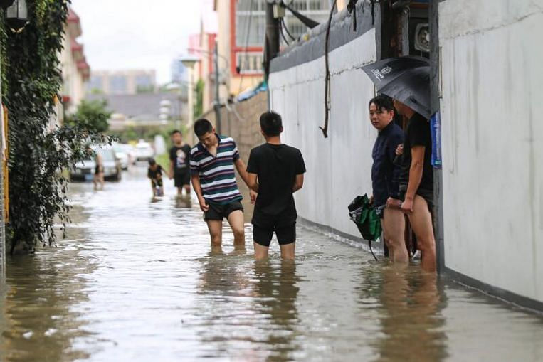 No typhoon in China in July for the first time since 1949 as long, hot summer continues