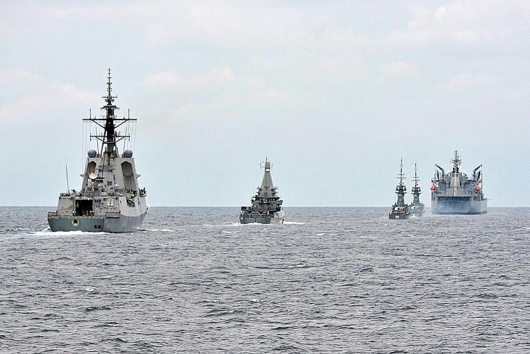 No physical interaction in S'pore-Australia naval exercise amid Covid-19