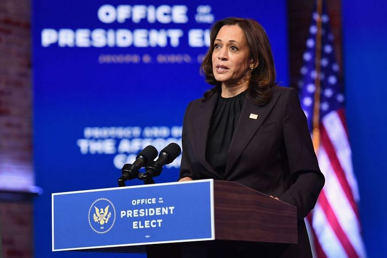 Harris Leads Record Wave Of Elected Women Changing Face Of Us Politics United States News Top Stories The Straits Times