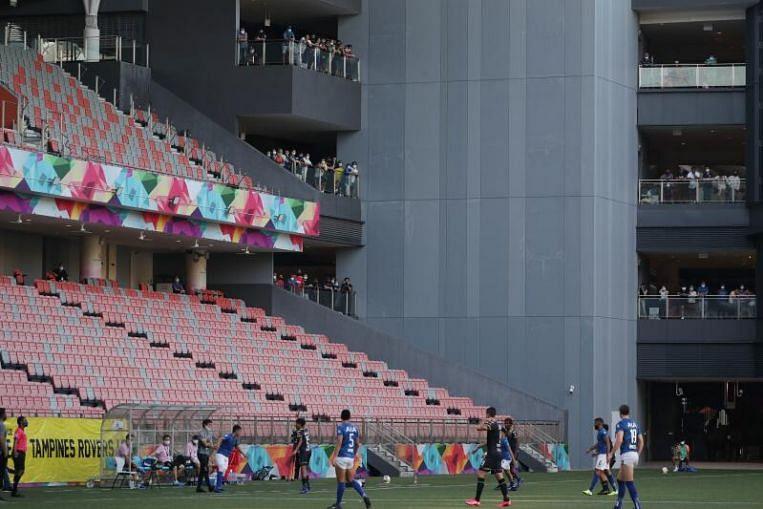 Football: 200 fans allowed for Singapore Premier League game on Dec 5