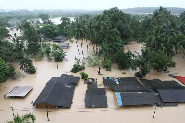 Thousands evacuated after heavy rain in Johor, Pahang