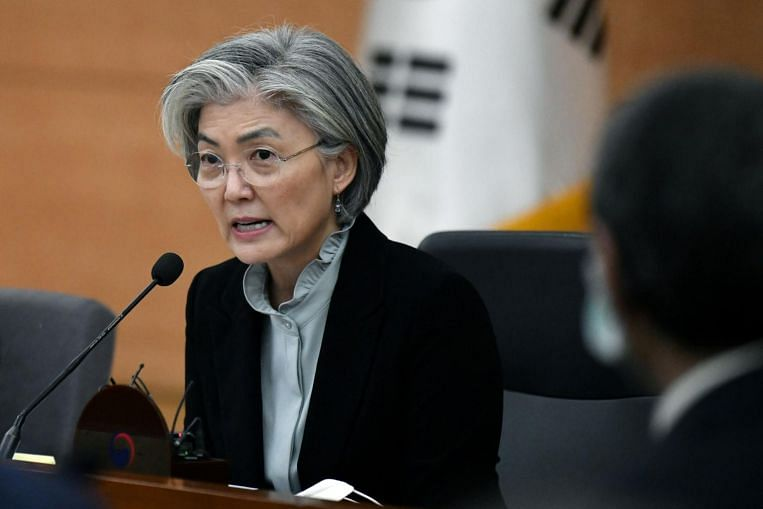 South Korea replaces first woman foreign minister, raising questions about representation