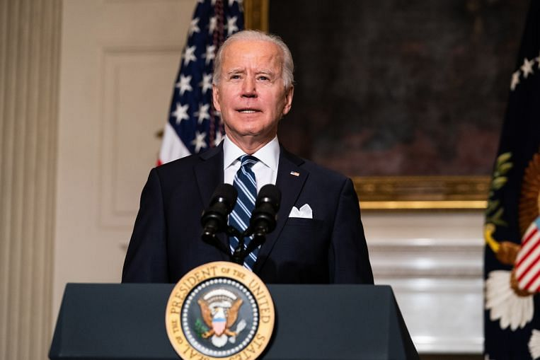Biden polls higher in first week than Trump at any time