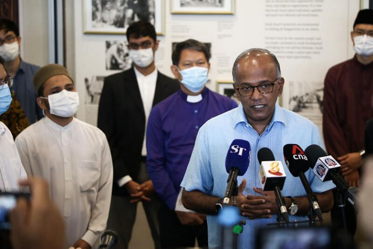 Religious institutions should remain welcoming and open, not turn into 'fortresses': Shanmugam thumbnail