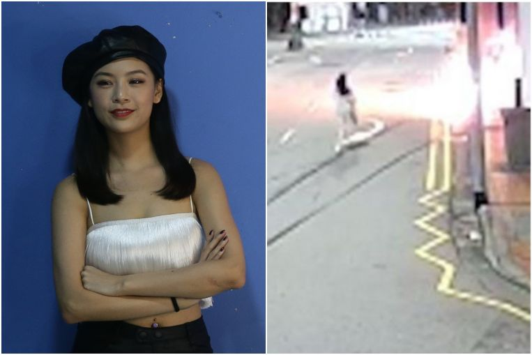 Tanjong Pagar crash: Woman who burned herself trying to save fiance is out of ICU and conscious, Singapore News & Top Stories