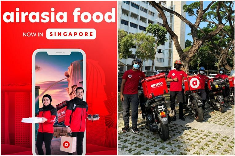 AirAsia's food delivery service launches in Singapore with 80 restaurants on board