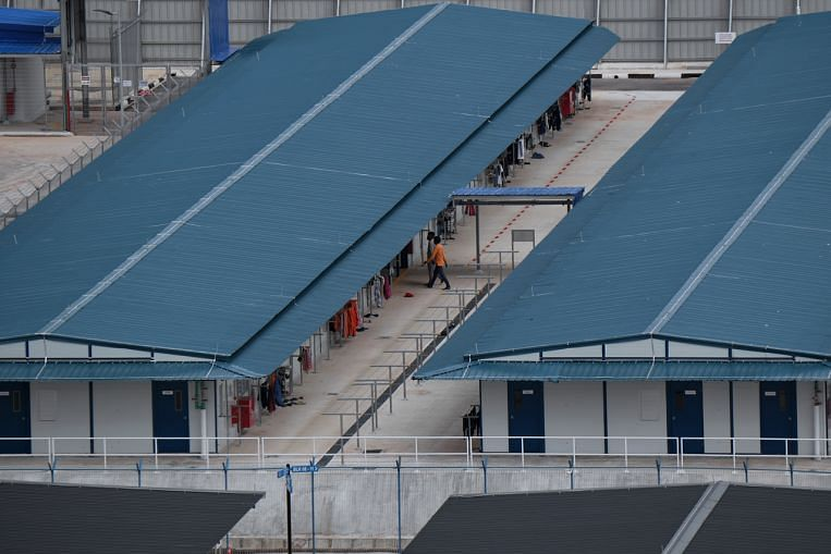 Newly-arrived migrant workers can serve bulk of SHN in Quick Build Dorms under MOM pilot