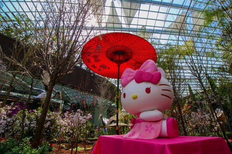 Gardens by the Bay sakura season extended to April