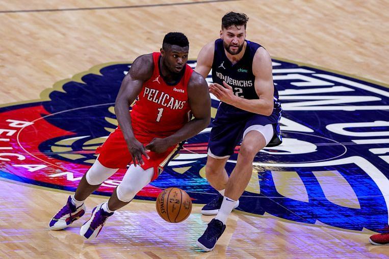 NBA: Zion Williamson scores 38 points as Pelicans knock ...