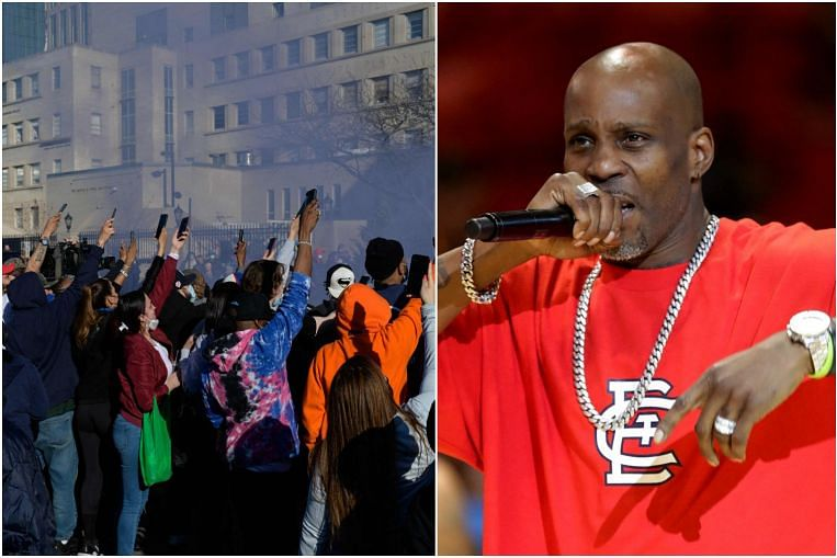 Family, supporters hold a vigil for hospitalized rapper DMX, Entertainment News & Top Stories