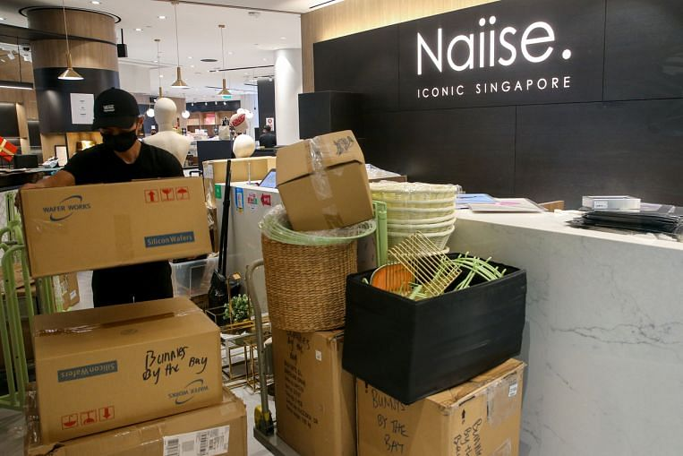 Local retailer Naiise closes last store at Jewel Changi, may wind up operations