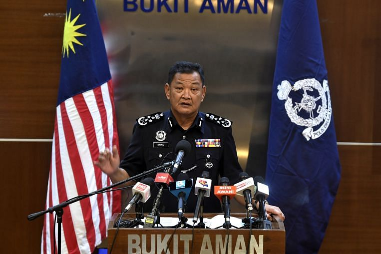 Outgoing Malaysian police chief alleges recent cover-ups in disciplinary probes