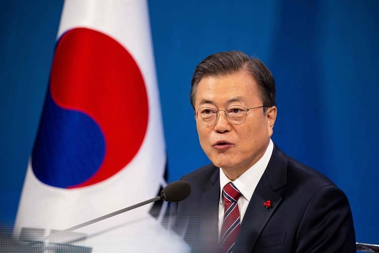 South Korean President Moon reshuffles Cabinet in bid to win back public support