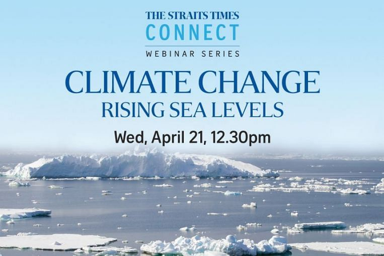 ST Webinar to discuss sea-level rise threat and solutions, Singapore News & Top Stories