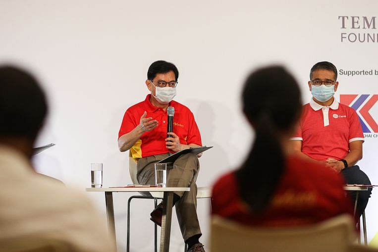 Youth volunteerism, building social bridges are vital: DPM Heng Swee Keat, Edwin Tong