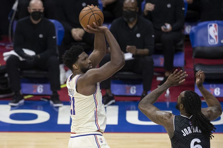 NBA: Embiid dominates as Sixers beat Clippers, Utah rally without Mitchell