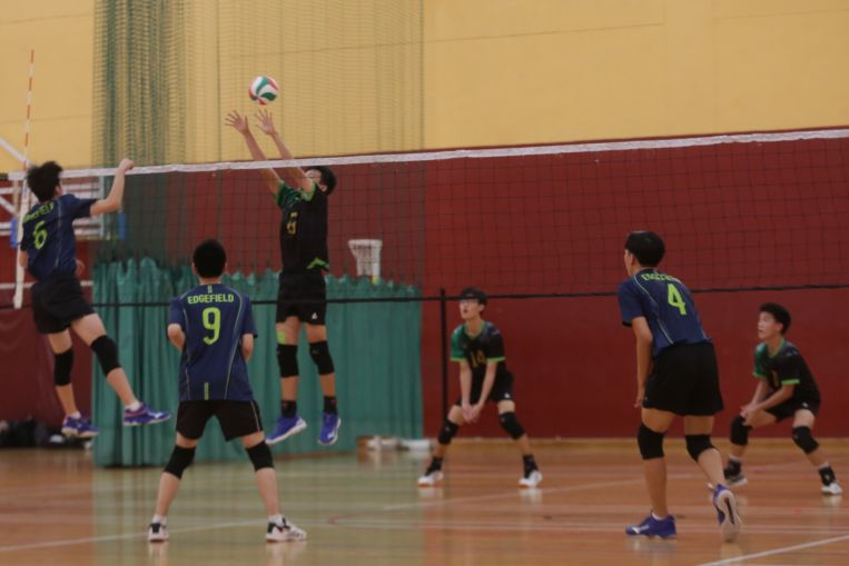 School sports: Catholic High, Xinmin Secondary crowned B Division North Zone volleyball champions