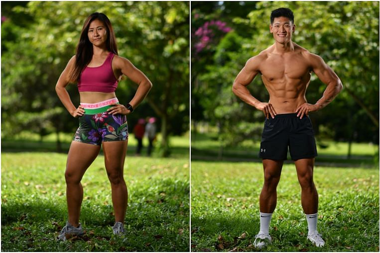 Hot Bods: Financial adviser and personal trainer believe in drinking 3 to 4 litres of water