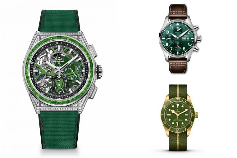 From mint to mantis, fern to forest, a green wave is sweeping through the world of watches