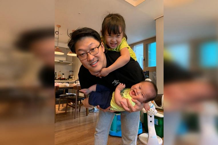 More South Korean men taking paternity leave, becoming stay-home dads