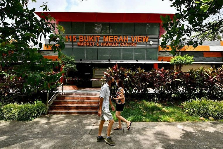 182 stalls in 115 Bukit Merah View market closed for cleaning after 2 Covid-19 cases detected, Singapore News & Top Stories