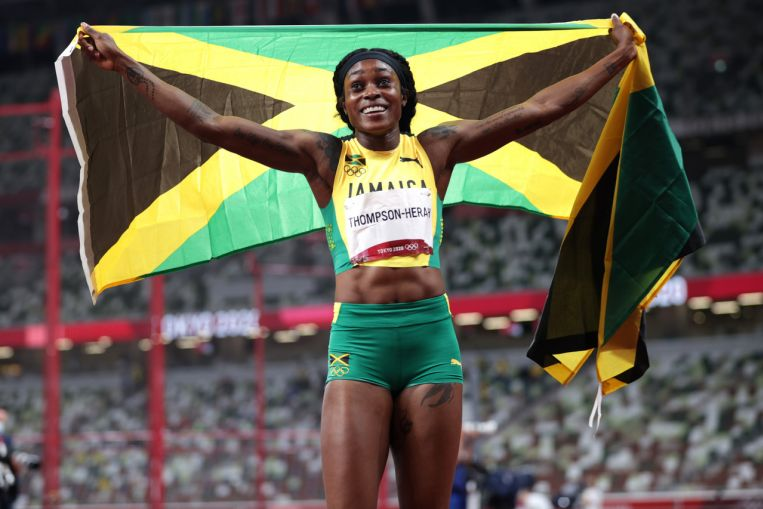Olympics: Jamaica's Elaine Thompson-Herah wins 200m to seal athletics double