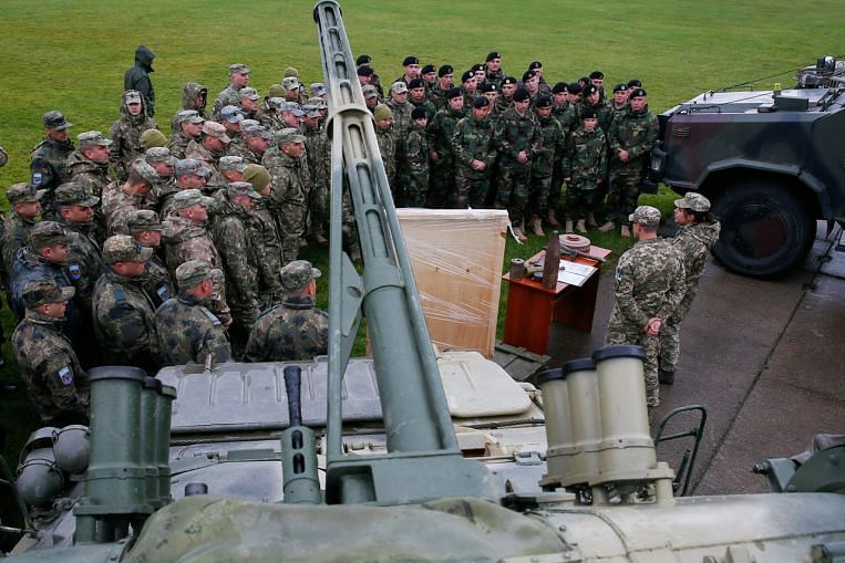 Ukraine holds military drills with US forces, Nato allies