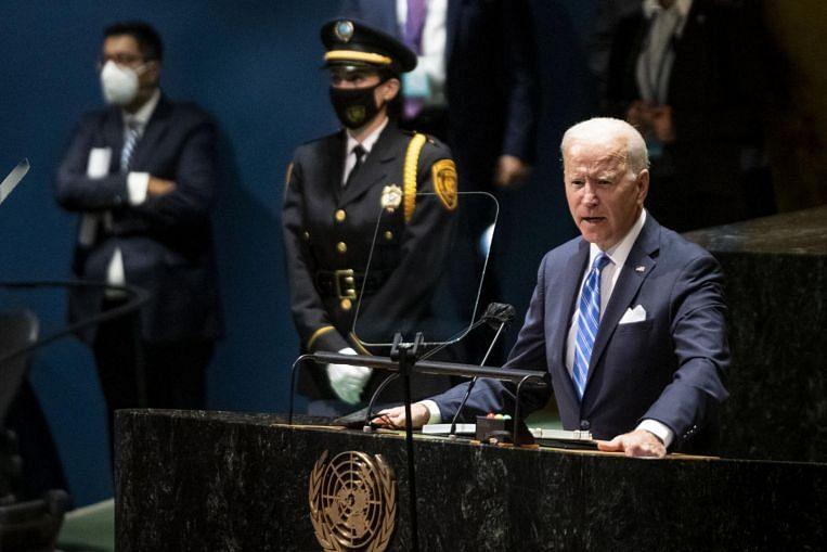 US President Biden's UN speech struck high notes, but reality is rough - The Straits Times