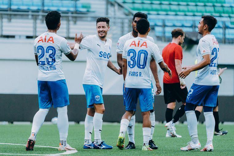 Bola Sepak: Lion City Sailors meraih gelaran Liga Perdana Singapura pada hari akhir yang dramatik, Berita Bola Sepak & Berita Teratas