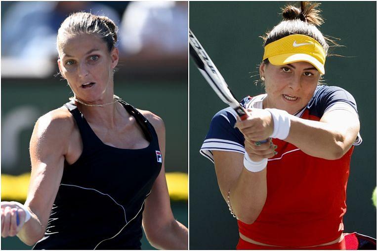 Tenis: Pemain pilihan utama Pliskova dan juara bertahan, Andreescu menderita keluar awal Indian Wells, Berita Tenis & Berita Teratas