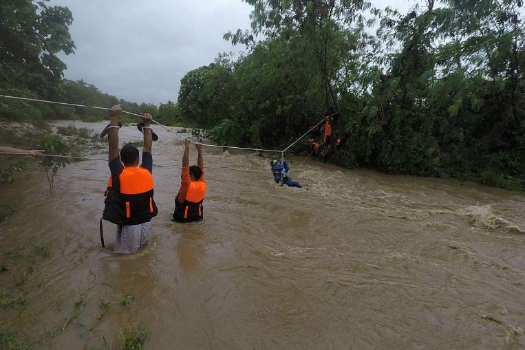 Sembilan maut di Filipina selepas ribut tropika, tanah runtuh, Berita Asia & Berita Teratas